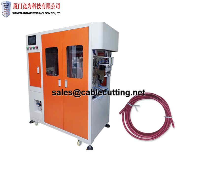 Full Automatic wire cutting Coiling twist tie machine WPM-CRO