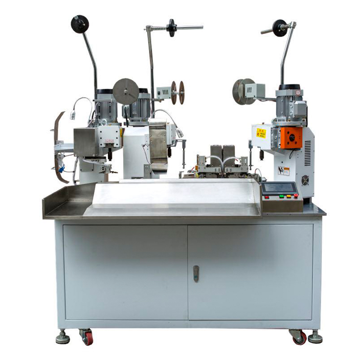 Full automatic triple ends terminal crimping machine WPM-189