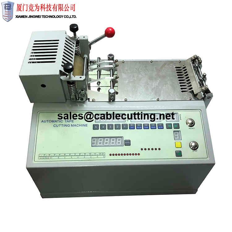 Normal round shape hoop & loop ribbon cutting machine WPM-690