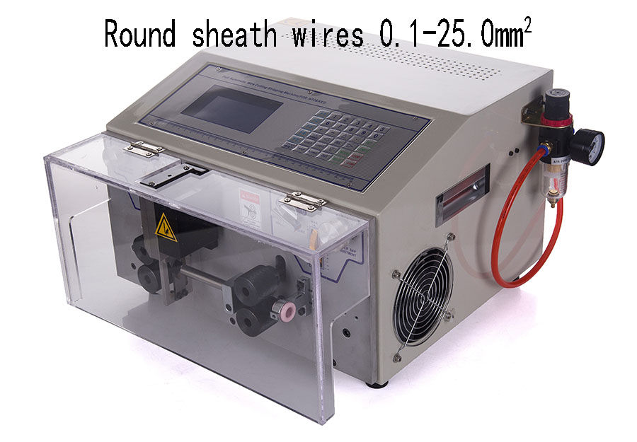 Sheathed cable cutting and stripping machine WPM-09HT2 25sq.mm