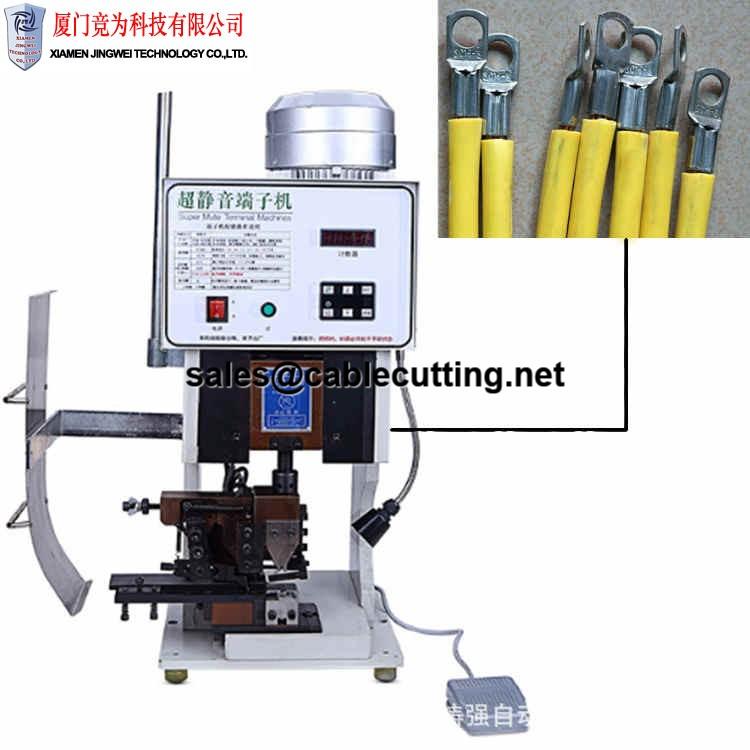 Super mute noiseless semi-automatic terminal crimping machine WPM-3000S