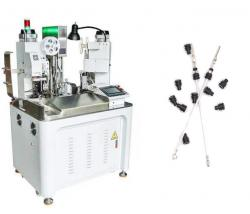 Automatic wire crimping and water seal insertion machine WPM-078H