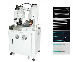 Full servo cable both sides crimping machine