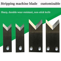 cutting and stripping machine blade