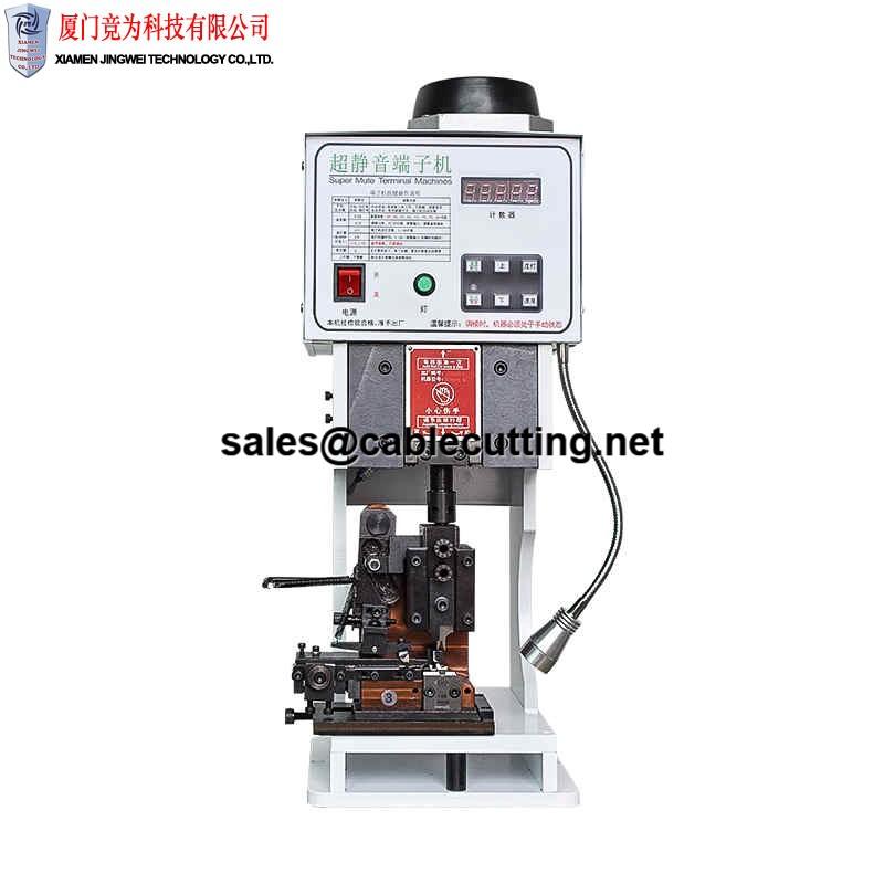 super silence and power saving Semi-automatic ultra-quiet terminal machine automatic wire crimping machine