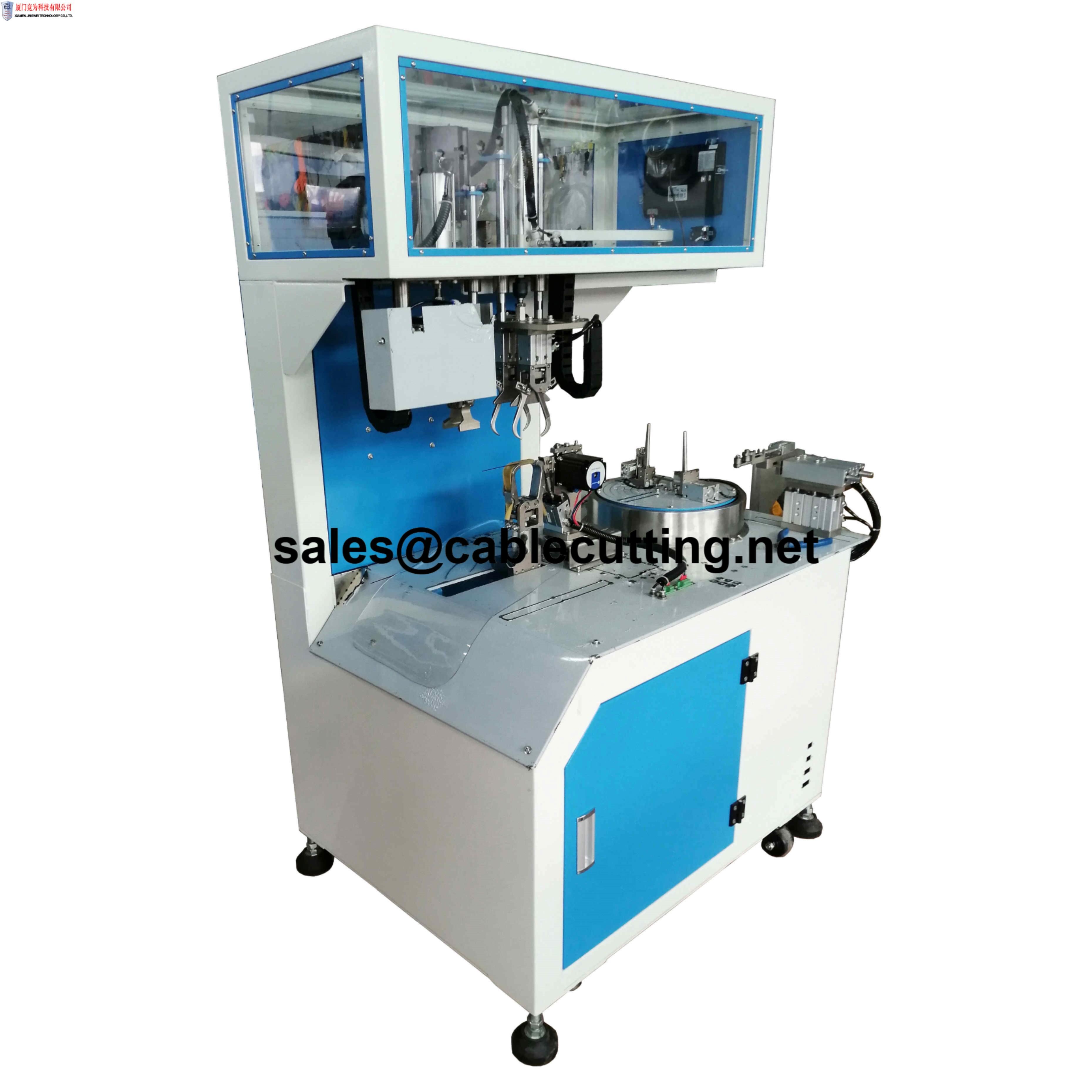 Wire stripping cutting Coiling binding machine WPM-SCCB